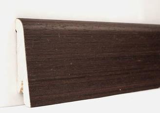 Плинтус деревянный шпонированный Венге