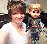 Лялька Дісней Крістоф Холодне серце Disney Animators 40 см