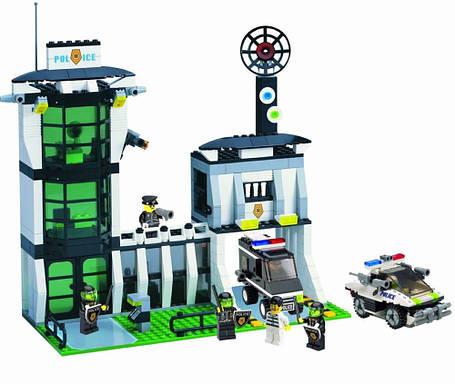 Конструктор Brick 129 Полицейская серия (Полицейский участок), фото 2