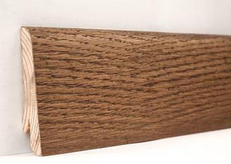 Плинтус деревянный шпонированный Мокка