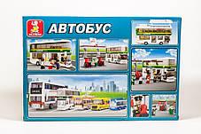Конструктор Двухэтажный автобус Sluban  M38-B0331 Городская серия, фото 3