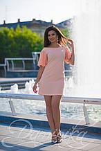 Красивое летнее платье Фламинго
