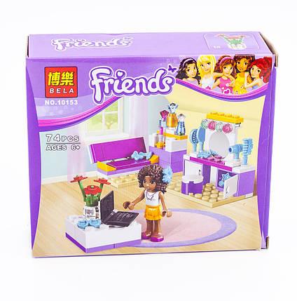 Конструктор Bela серия Friends / Подружки 10153 (Комната Андреа), фото 2