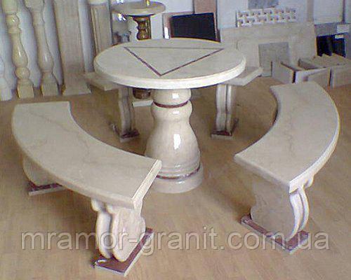 Стол со скамейками  СЛЛМ - 40