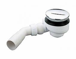 Сифон для душевых поддонов ТМ McAlpine HC27-CPB хром производство Англия евростандарт 90 мм