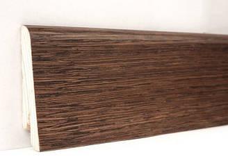 Плинтус деревянный шпонированный Какао