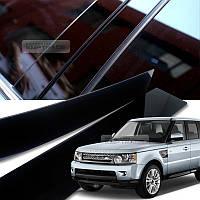 Land Rover Range Rover Sport 2006-13 черные глянцевые накладки молдинги на дверные стойки Новые