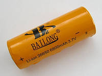 Аккумулятор Bailong   Li-on 26650 6800mAh  3.7V