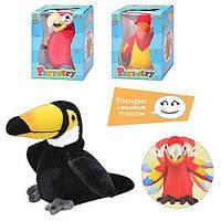 Большой попугай -повторюшка (3 вида)