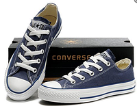 Кеды мужские Converse Chuck Taylor All Star Low (blue/white) - 19Z
