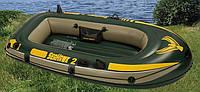 Двухместная надувная лодка Intex 68346