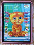 Детский планшет говорящий 3D Кот Рыжик, фото 2