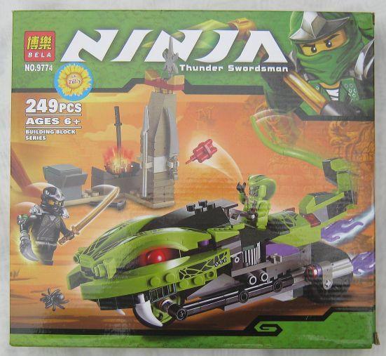 Конструктор Ninja 9774 (249 предметов)