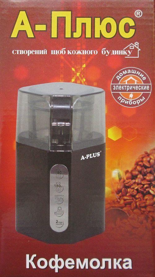 Кофемолка А-Плюс Cg-1587, 180 Вт