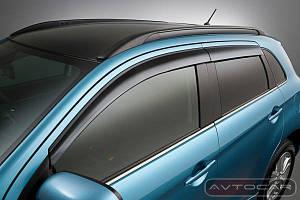Дефлектора боковых окон Lexus GS с 2005-2011 4шт.