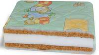 Матрац в детскую кроватку 120х60 см КПК-ПРЕМИУМ кокос-поролон-кокос