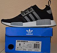 Мужские кроссовки Adidas NMD Runner Black/Grey