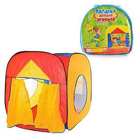 Детская игровая палатка M 0507 (3516) Домик со шторами