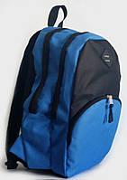 Качественный рюкзак 13 л УПС, UPS00102-2, голубой с черным
