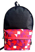 Модный рюкзак 12 л УПС, UPS00103-9, черный /мозаика/