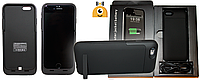 Чехлы-аккумуляторы Power Bank для iphone 5/5S, 6/6S Black