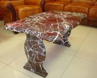 Стол из мрамора