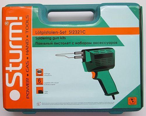 Паяльный пистолет Sturm SI2321C (выжигатель)