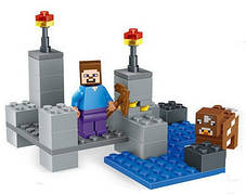 Конструктор Lele серия Minecraft / Майнкрафт 78086 A, B, C, D (аналог Lego Майнкрафт, Minecraft), фото 3