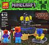 Конструктор Lele серия Minecraft / Майнкрафт 78086 A, B, C, D (аналог Lego Майнкрафт, Minecraft), фото 4