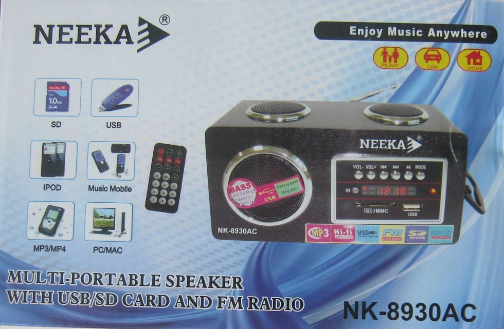 Радиоприемник NEEKA NK-8930АС