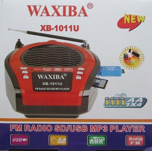 Радиоприемник с Mp3 проигрывателем Waxiba Xb-1011U