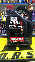 Масло моторное MOTUL 8100 ECO-Energy 5W30, 5 л