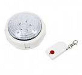 Светильник на 5 светодиодов с пультом