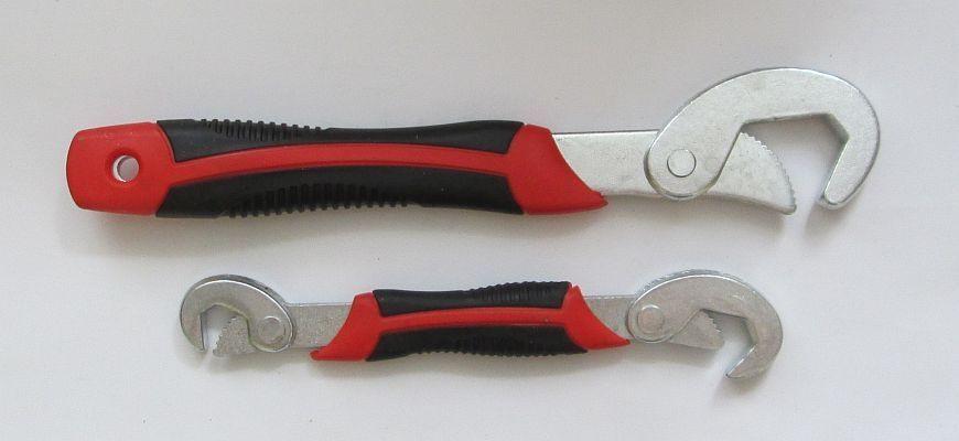 """Универсальный ручной гаечный ключ Snap""""N Grip"""