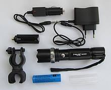 Фонарик BL8628 99000W+АКБ+2ЗУ+упаковка+велокрепёж