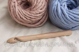 Крючок для вязания толстой пряжи 20 мм