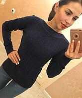 """Теплый, женский свитер отличного качества """"Хлопок + шерсть, горловина лодочка""""  Фабричный Китай! РАЗНЫЕ ЦВЕТА"""