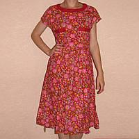 Платье на пуговичках до пояса, р, 44-46 хлопок 100%