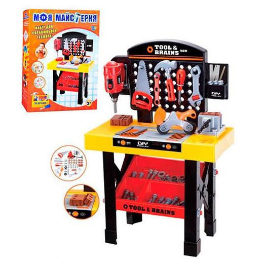 Набор инструментов  со столом M 0447 Моя мастерская. Звук