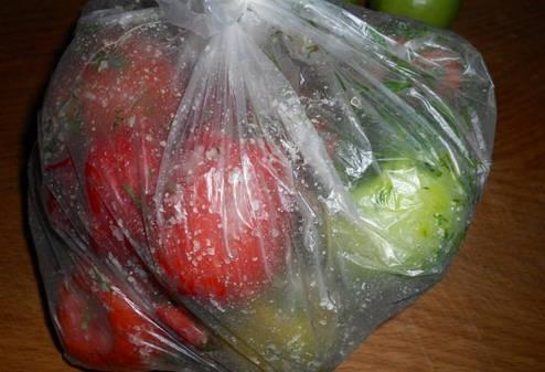 Мешок полиэтиленовый для засолки овощей, 30 мкм 45*85 см, фото 2