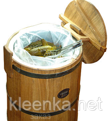 Мешок-засолочный вкладыш для помидор, огурцов, капусты и других овощей, 30мкм, 0,5 м*1 м