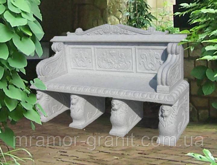 Декоративная скамья СЛЛМ - 56
