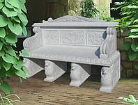 Декоративная скамья
