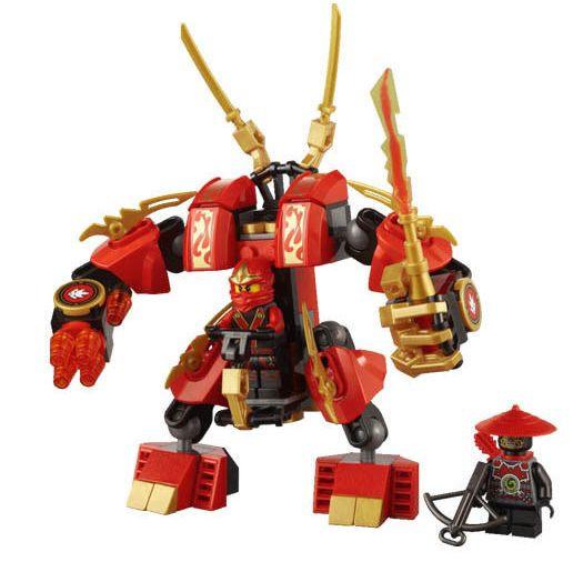 Конструктор Lele серия Ninja / Ниндзя 79110 (Огненный робот Кая)