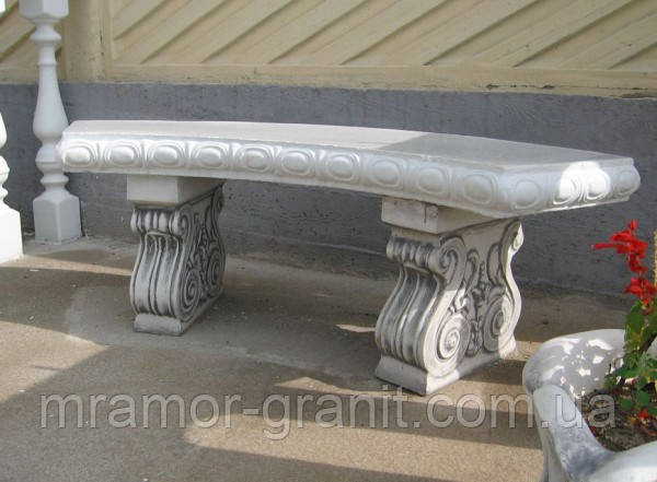 Скамья из мрамора СЛЛМ - 57