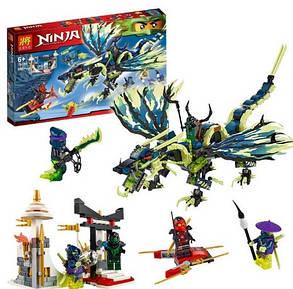 Конструктор Lele серия Ninja / Ниндзя 79120 (Атака Дракона Морро), фото 2