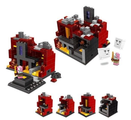 Конструктор Lele серия Minecraft / Майнкрафт 79048