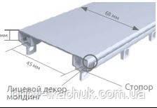 2-х рядный металлический карниз для штор DS