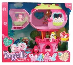 Игровой набор Моя маленькая пони Домик Пони 799 My Little Pony музыкальный, с пони, фото 2
