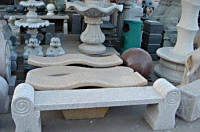 Скамейки из натурального камня